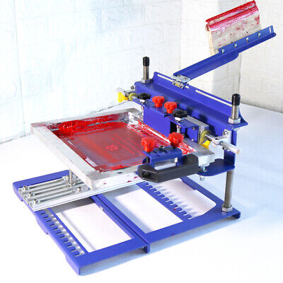 170mm Diameter Curved Screen Printing Machine Manual Press Printer
