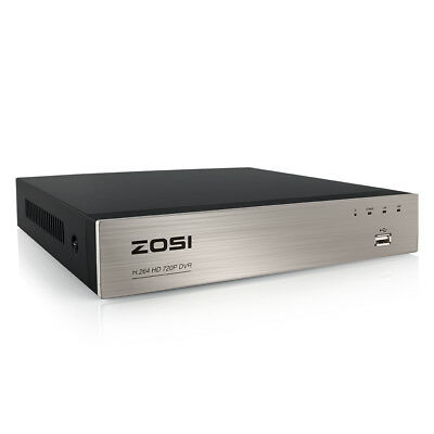 ZOSI HD 8CH 1080N TVI HDMI DVR for CCTV Security Cameras System P2P Free APP
