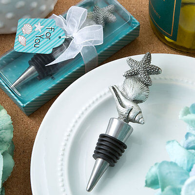 24 Sea / Beach Themed Wine Bottle Stoppers Bridal Shower Wedding Favors](Beach Themed Wedding Favors)