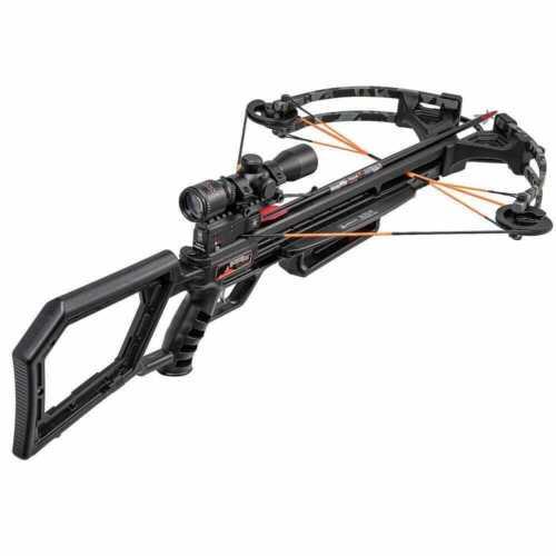 Wicked Ridge Black Hawk 360 Crossbow w/Rope Cocker Multi-Line Scope WR21020-9535