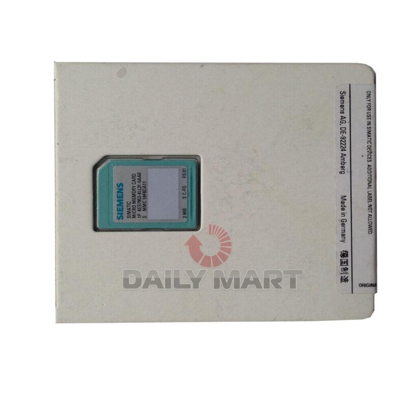 New In Box SIEMENS 6ES7 953-8LL31-0AA0 6ES7953-8LL31-0AA0 Memory Card Module
