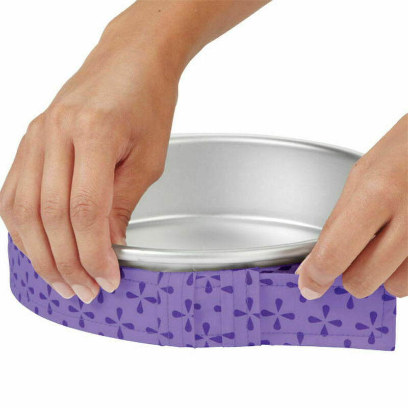 Wilton Bake Even Strips - Cake Level Baking Belt Band - 2 Pack