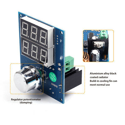 Dc-dc Digital Voltage Regulator Step Down Power Supply Module 5-36v To 1.3-32v