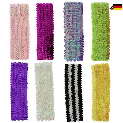 Haarband Stirnband Flapper Pailletten Haarschmuck 20er Jahre Disko - Flapper Stirnband