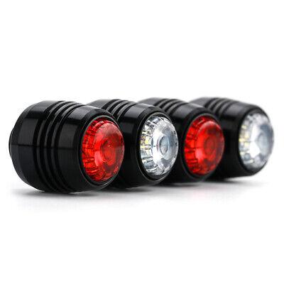 4Pcs Skateboard LED Lights Night Warning Safety Lights for 4