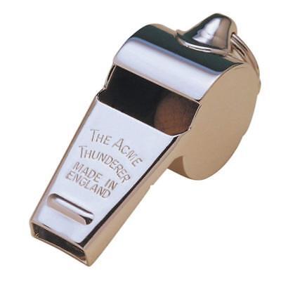 (New Acme Thunderer Metal Whistle Metal Pea Referee / Dog Whistle )
