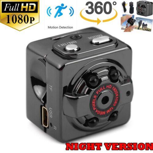 Mini HD Hidden Camera 1080P Motion Detection Night Video Cam Nanny DVR