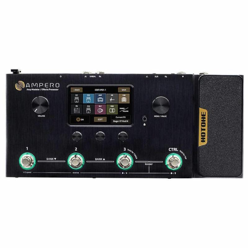 Hotone Ampero  MP-100 Amp Modeler & Multi Effects Processor