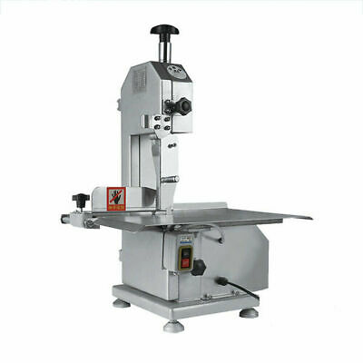 Commercial Meat Slicer Bone Cutting Machine Large Table Electric Meat Saw Metal