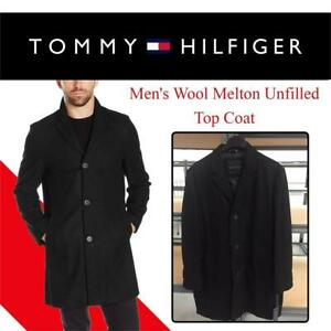 New  Tommy Hilfiger Mens Wool Melton Unfilled Top Coat Condition: New, Size: XXL