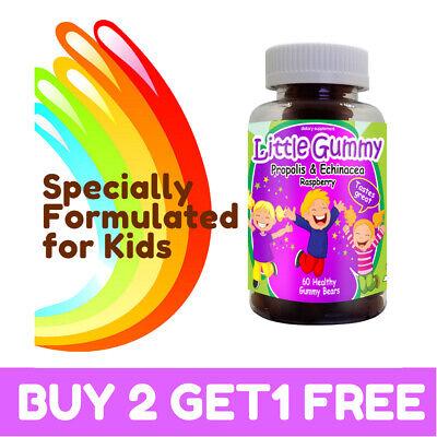 The Best Vitamin for kids Propolis & Echinacea Gummies 100% Natural Free