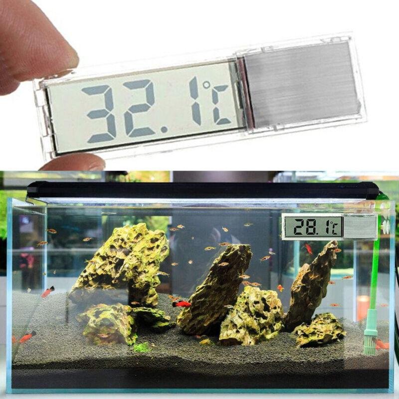 2 x Digital LCD Fisch Aquarium Thermometer Wasser Temperatur Sensor Messergerät