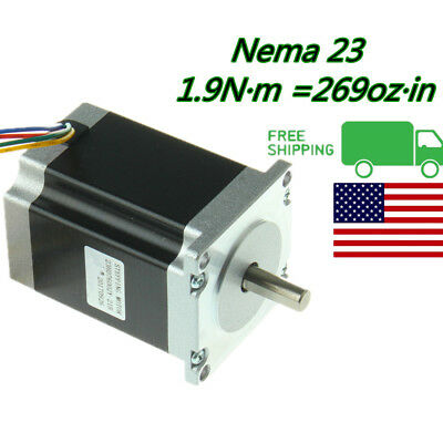 Nema 23 Stepper Motor 1.9 N.m 3a 3.6v For Cnc 3d Printer