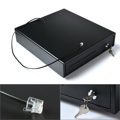Standard Cash Register Drawer Box Compatible Epson Tray Pos Printers W 4 Bill
