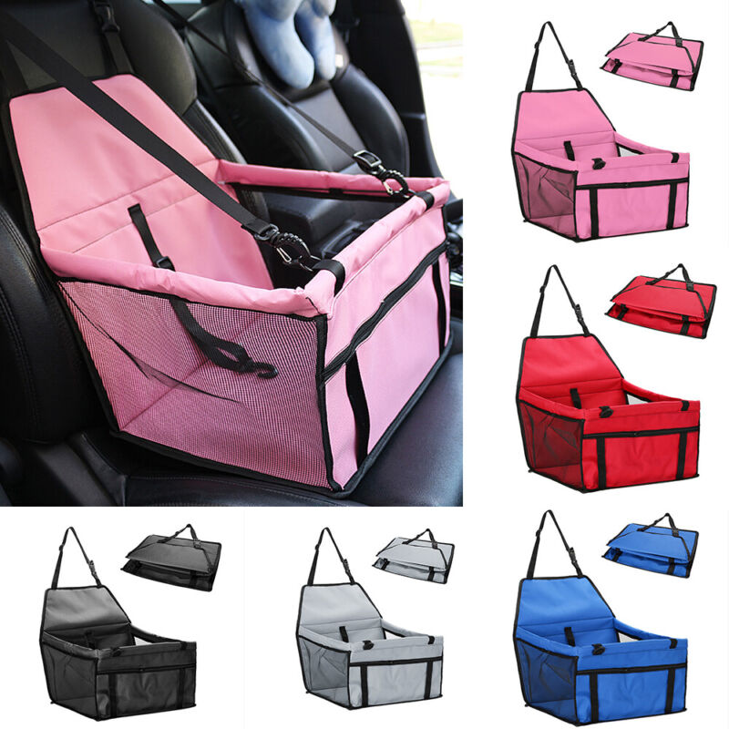 Portable Dog Car Seat Pet Booster Travel Safety Protector For Small/Medium Dogs