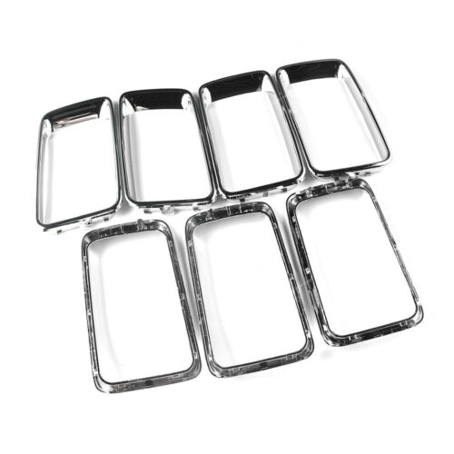 Jeep Grand Cherokee 2014-16 Front Grille Chrome Trim Insert Ring kit 68227779AA Car & Truck Parts