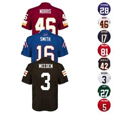 NFL Mid Tier Licensed Team Player Official Home Away Alt Jersey Boys Size (4-7)