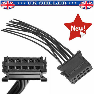 Heater Blower Resistor Wiring Connector Loom Harness Fit Renault Clio Scenic Mk2