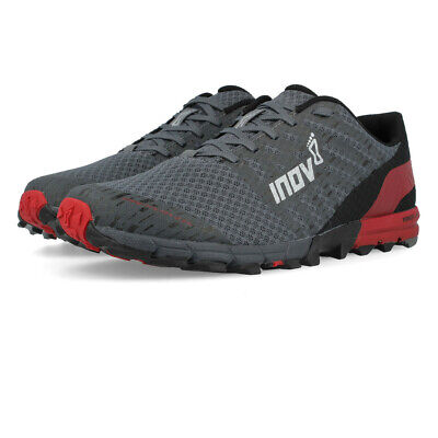 Inov8 Mens TRAILTALON 235 Trail Running Shoes Trainers Sneakers Grey Red Sports