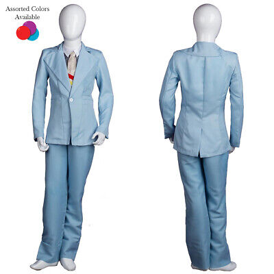 EXCLUSIVE! Child Deluxe Costume for Cosplay Singer Bowie Halloween Party Suit (Bowie Halloween)