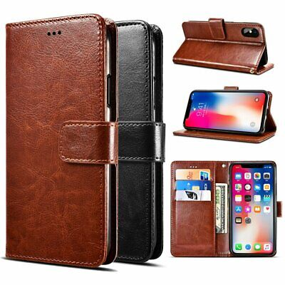 For Apple iPhone X XS XR XS Max PU Leather Wallet Card Flip Stand Cover Case Cases, Covers & Skins