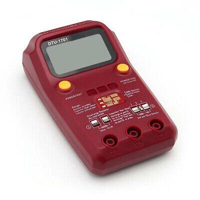 Dtu-1701 Digital Transistor Tester Smd Chip Resistance Meter Inductance Lcr