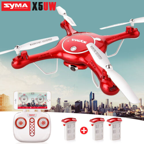 Syma X5UW HD Camera FPV WIFI Drone Headless RC Quadcopter Altitude Hold UAV US
