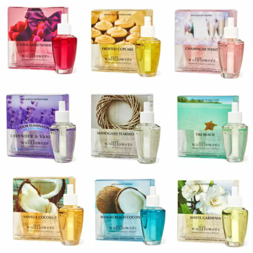 Bath & Body Works Wallflower Refill Bulbs 2 Pack  New Scents!  YOUR CHOICE ~NEW~