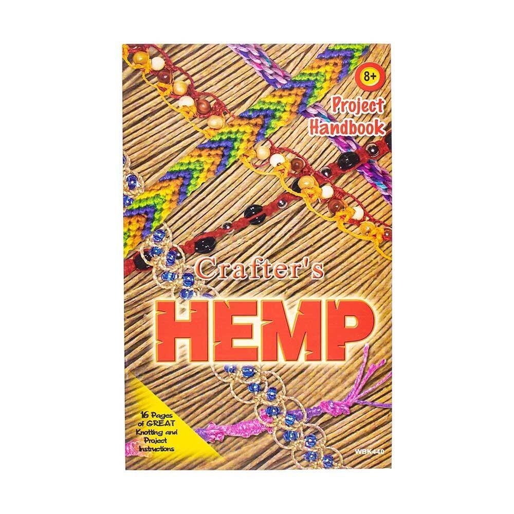 Hemp Project Handbook for Cord String Jute Twine - DIY Jewel