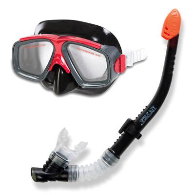 INTEX Schnorchel Tauch Set Surf Rider Tauchmaske Taucherbrille + Schnorchel