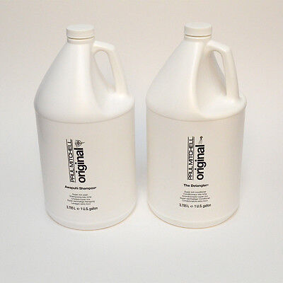 PAUL MITCHELL Shampoo and Conditioner SET OF 2 ~ Gallon ~ 3.785L + 2 FREE PUMP