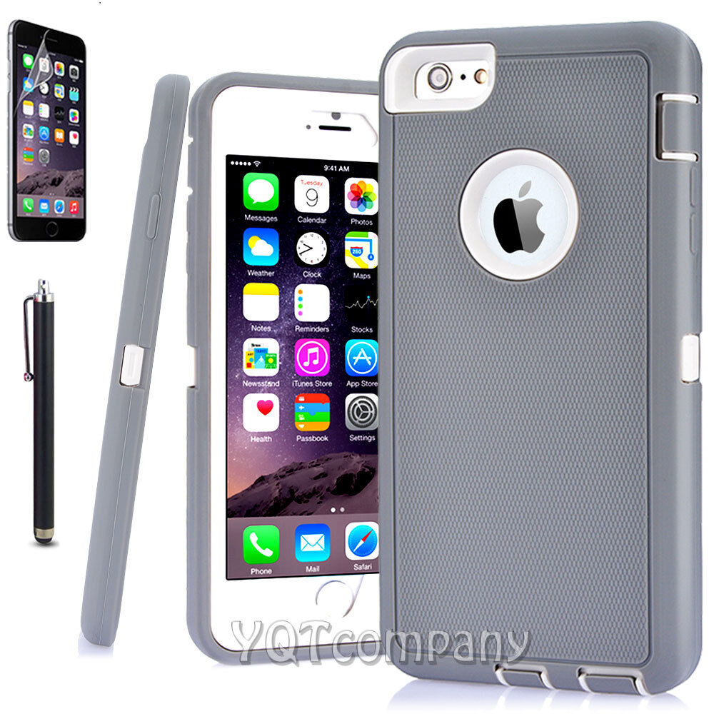 Hard Back ShockProof Slim Hybrid Phone Case Cover iPhone 6S 8 7 Plus Xs Max XR X