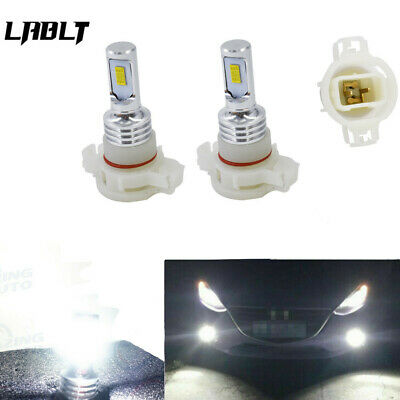 5202 PS24WFF LED Fog Light Bulbs Kit 35W 4000LM 6000K White Plug And Play USA
