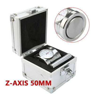 New Solid Magnetic Z Axis Zero Pre Setter Dial Setting Tool For Cnc Router 50mm