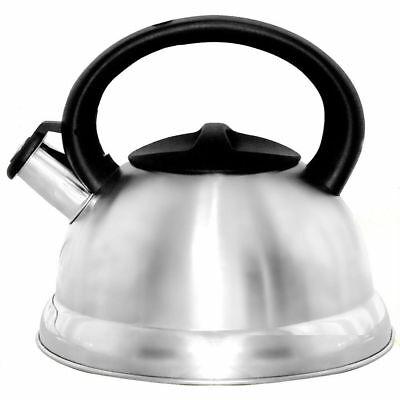 Better Chef 3-Liter Silver Stainless Steel Whistling Hot Water Tea Kettle