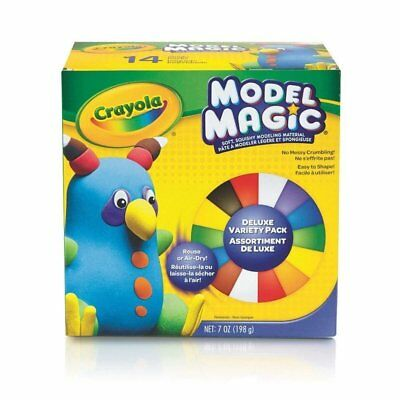 Crayola Crayola Model Magic (Crayola Model Magic Deluxe Variety Pack Air Dry Modelling Clay/Dough)