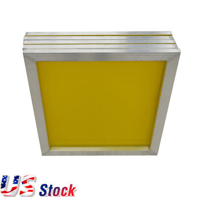 Us - 23 X 31 Aluminum Silk Screen Frame - 6pcs 305 Yellow Mesh