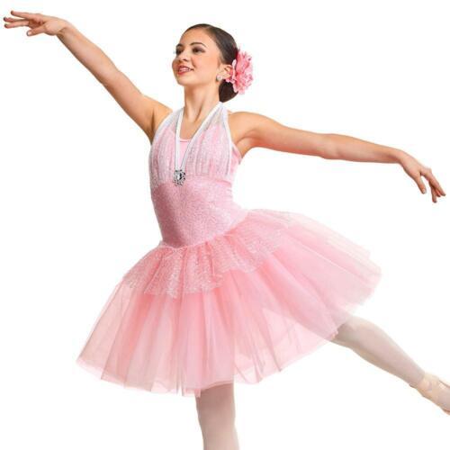 Adult Large Pink BEAUTY Dress Ballet Romantic Costume (starting quantity 7)