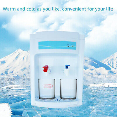 Hot&Cold Water Cooler Dispenser Free standing 2-5 Gallons Top Loading Office USA