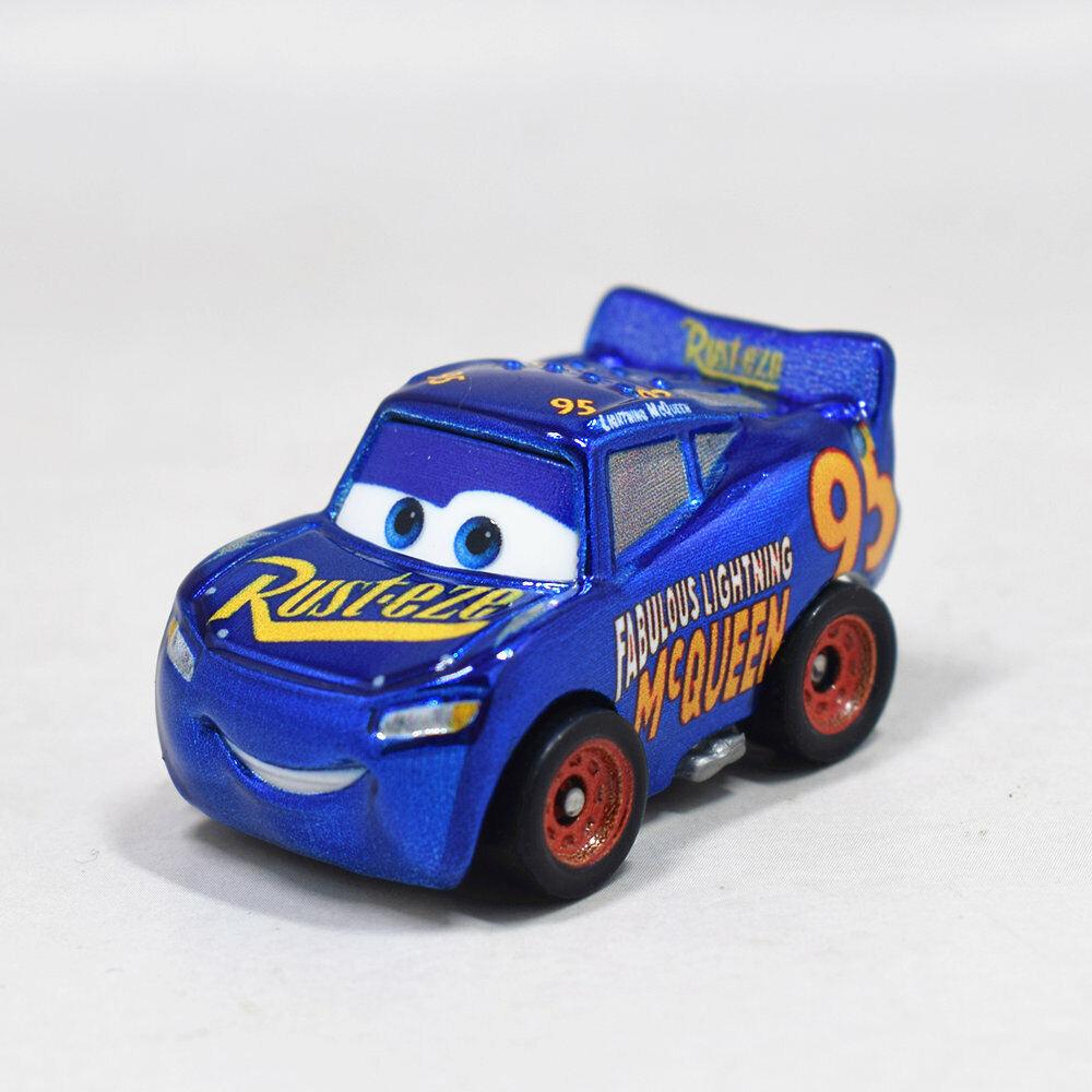Disney Cars 3 Mini Racers Metallic Jackson Storm Fabulous McQueen Ramírez Nuevo