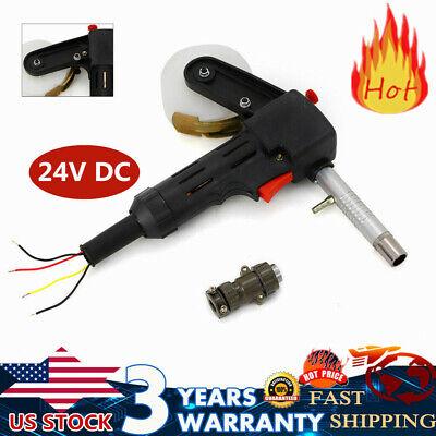 Dc 24v Mig Welder Spool Gun Wire Feeder Aluminum Welder Use Standard Spool Usa