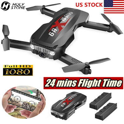 Holy Stone HS160 Pro Foldable RC Drone Quadcopter with WIFI FPV HD 1080p Camera