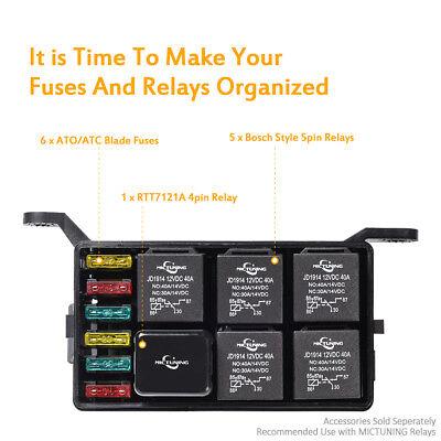 $_1?set_id=880000500F auto car fuse relay holder box relay socket 6 relay 6 atc ato Automotive Relay Box at panicattacktreatment.co