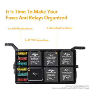 fuse relay box parts accessories ebay rh ebay com