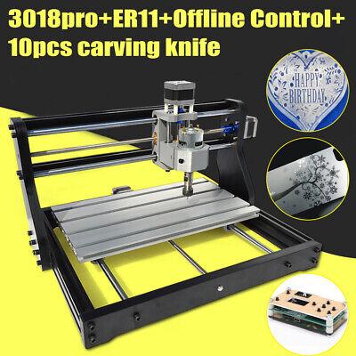 Cnc 3018 Pro Diy Router Mini Engraving Machine Engraver Grbl Offline Control