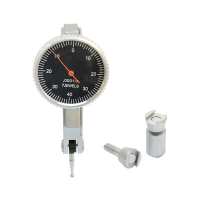 .008 Dial Test Indicator Graduation .0001 Jewels Black Face Mechanic Precision
