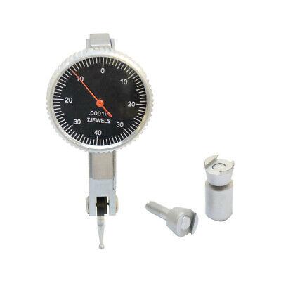 .008 Dial Test Indicator Graduation .0001 Jewels Black Face Mechanic Precision