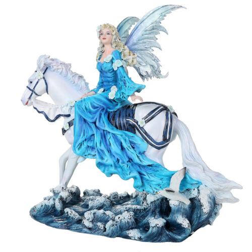 EUPHORIA Fairy & Horse Figurine Faery Figure Nene Thomas faerie angel statue