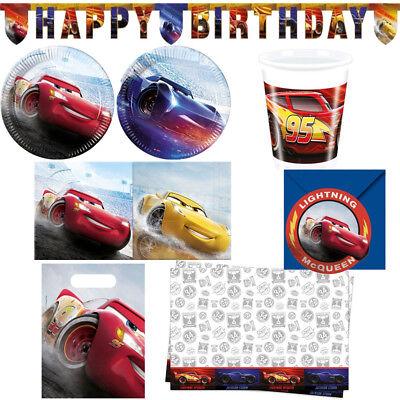 indergeburtstag Auswahl Deko Party Dekoration Geburtstag (Disney Cars Geburtstag Party)