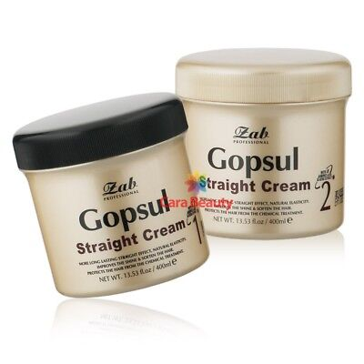 [Rebonding Cream] zab Gopsul straight cream 400g+400g / Straightener cream